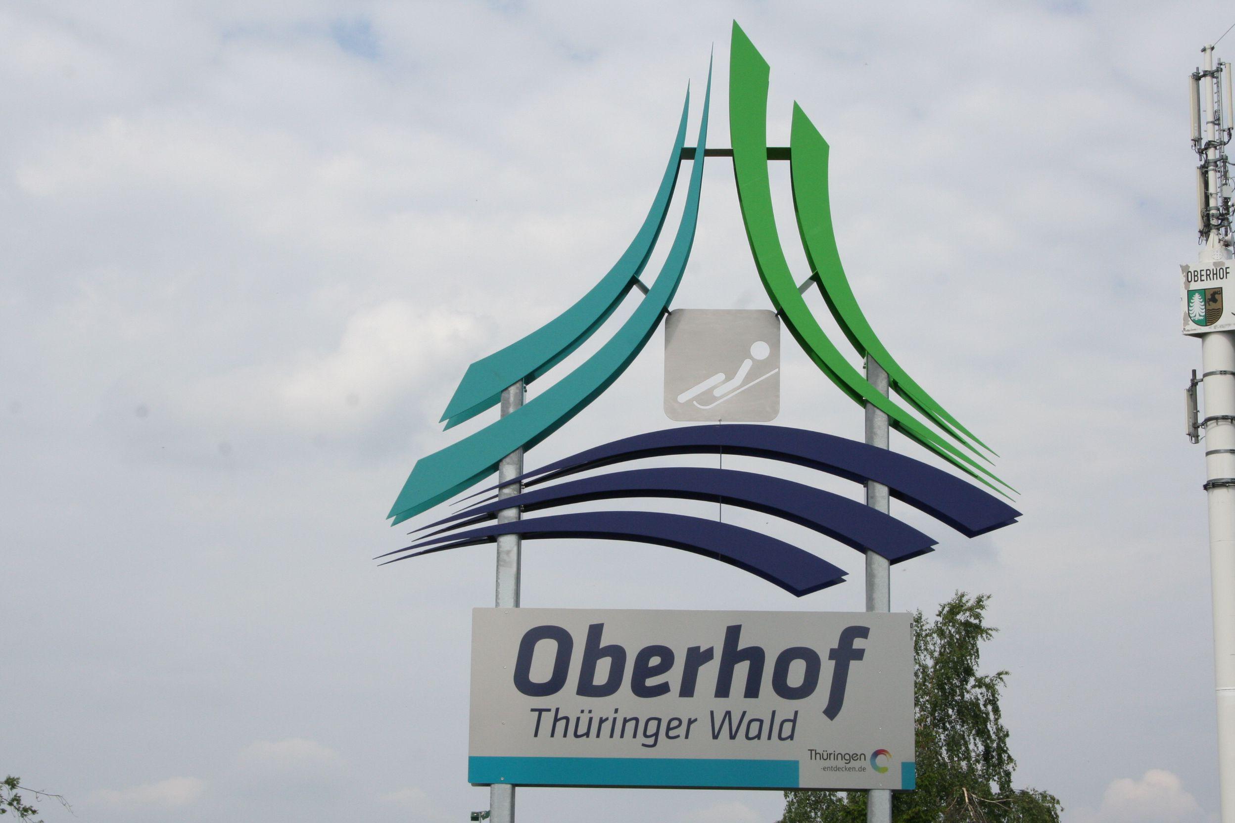 Das Ziel: Sportstätte Oberhof